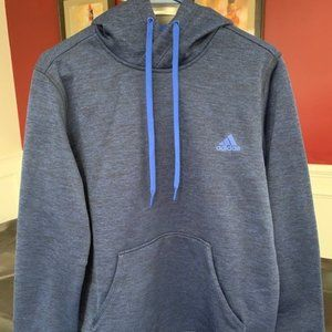 Adidas Climawarm Dark Blue & Black Hoodie